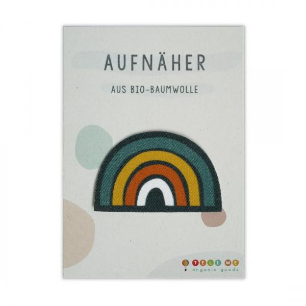 Aufnäher Regenbogen Tell Me Berlin